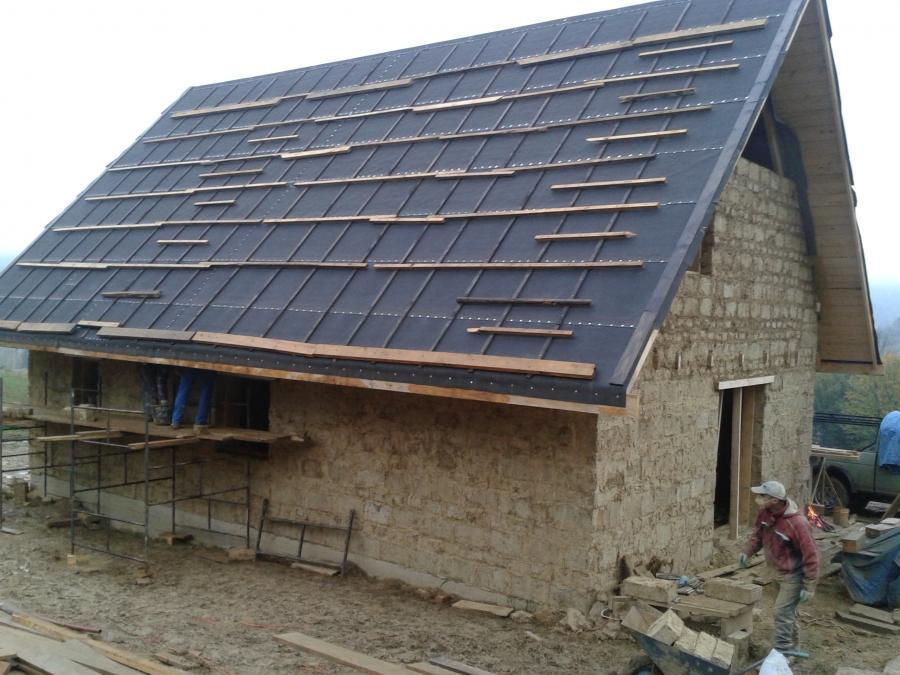 ekologiczny dom w bieszczadach