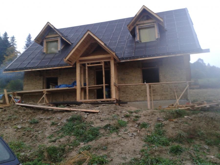 dom z gliny chata z gliny w baligrodzie