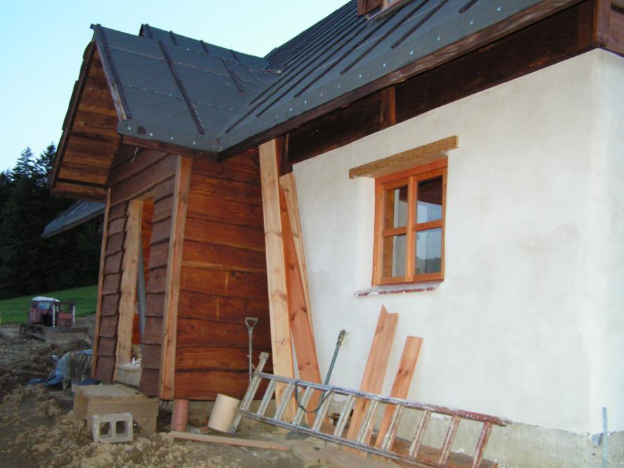 dom do wynajęcia bieszczady, baligród, dom z gliny